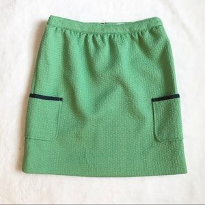 Brooks Brothers Green Skirt with Pockets NWT